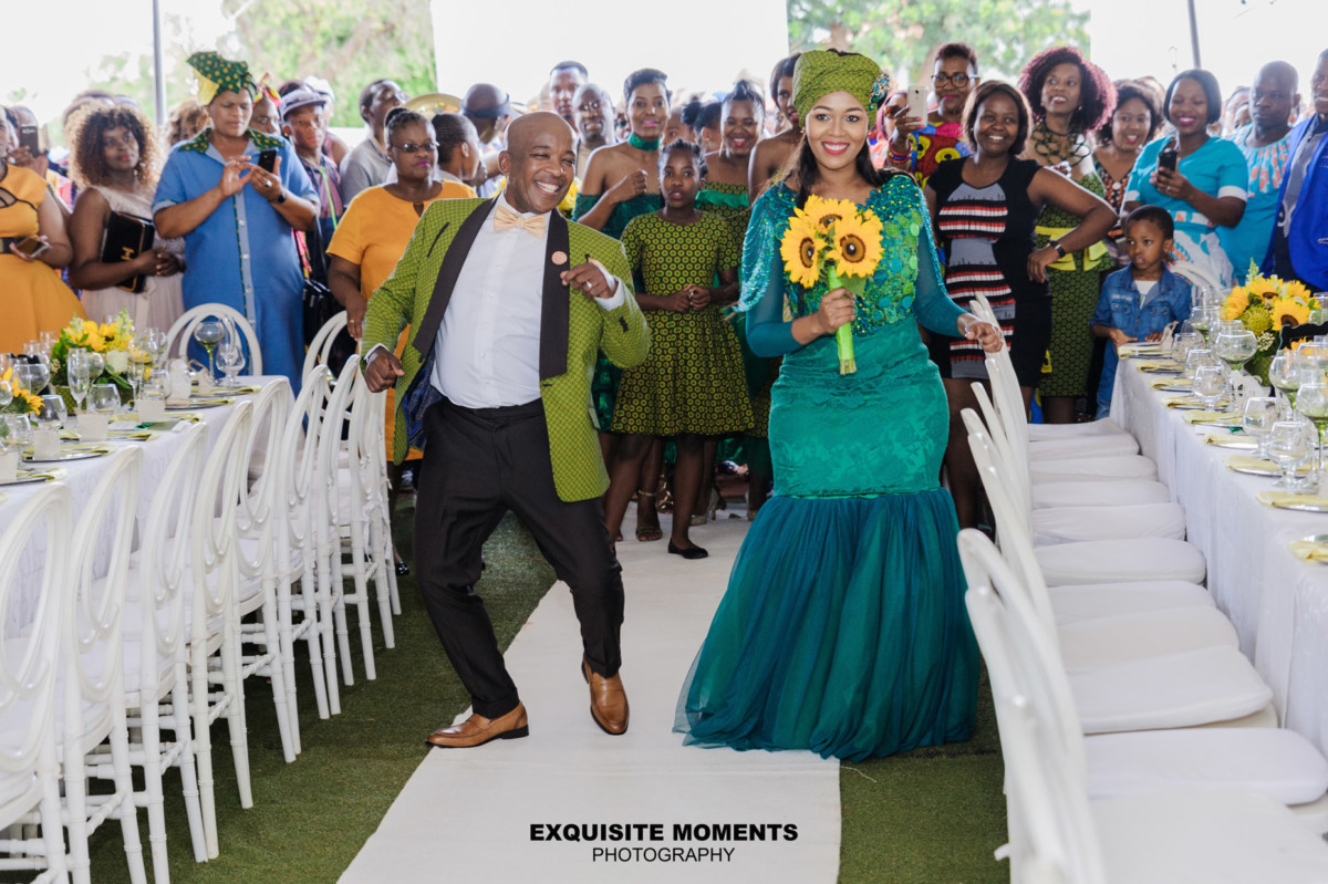 Vuyo And Katlegos Traditional Wedding