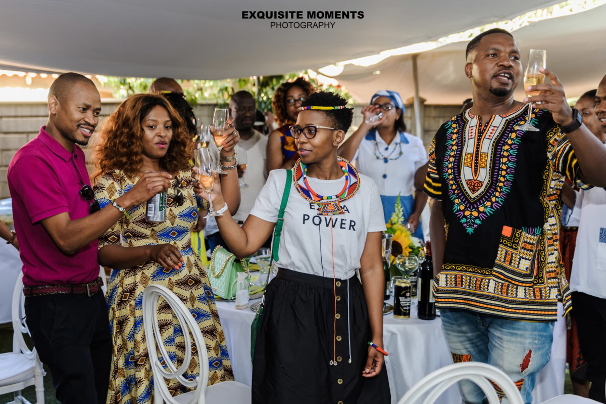 Vuyo and Katlego's traditional wedding